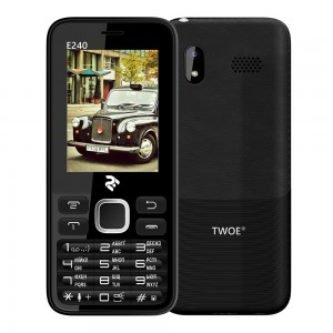 Мобильный телефон 2E TWOE E240 Dual Sim Black