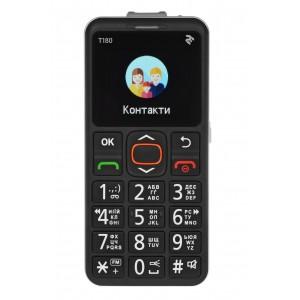 Мобильный телефон 2E TWOE T180 Single Sim Black
