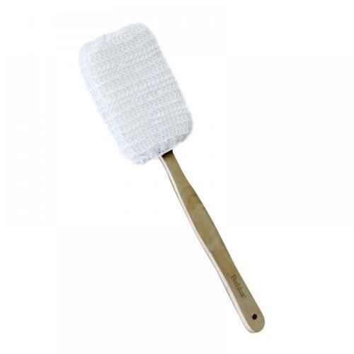 Мочалка банная с деревянной ручкой (BH90527)