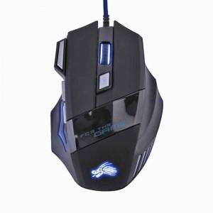 Дротова ігрова мишка оптична Dragon (6D, 3D колесо, 3200 DPI, шнур 1.5 м, LED)