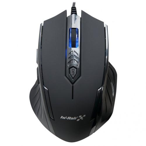 Мышь игровая HI-RALI -USB  6D DPI:800-2400HI-M8177black