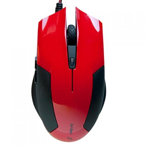Мышь игровая HI-RALI -USB  6D DPI:800-2400HI-M8178red
