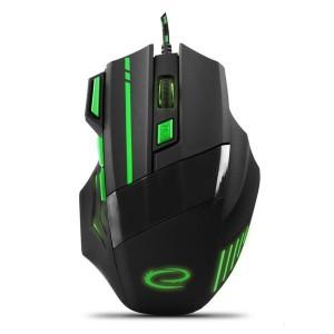 Мышь компьютерная игровая ESPERANZA MX201 WOLF Green