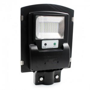 Вуличний ліхтар на стовп 5621 solar street light 1VPP на сонячній батареї з датчиком на рух і освітлення