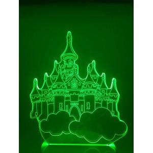 Настольный светильник 3D Москва EL-266 с пультом