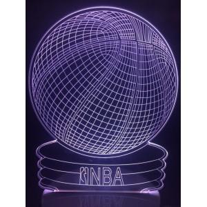 Настольный светильник 3D Мяч EL-266 с пультом