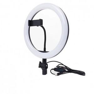 Кільцева LED лампа 3 (1 крепл.тел., USB, 26 см)