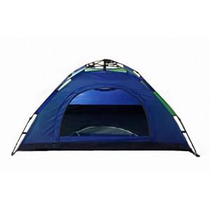 Автоматическая  палатка 4-х местная, синяя, 2х2 м