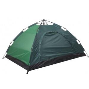 Автоматическая  палатка 6-ти местная, зеленая, 2х2,5 м