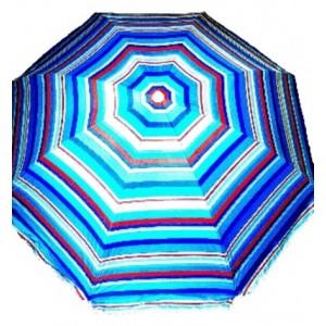 Пляжна парасолька Umbrella Lotus Frame, 2.5 м, ромашка (є різні принти)