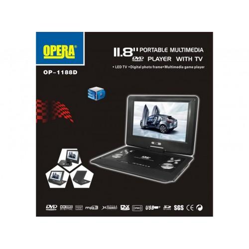 Портативный DVD Opera OP-1188D