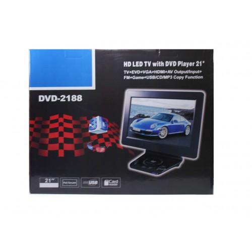 Портативный TV-DVD плеер 2188