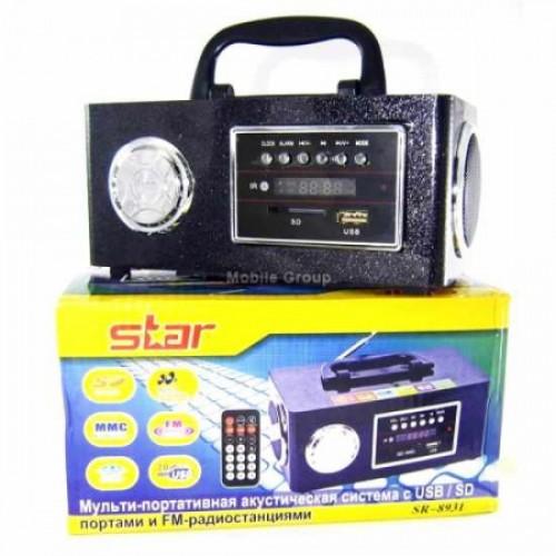 Портативная MP3 колонка Star SR-8931