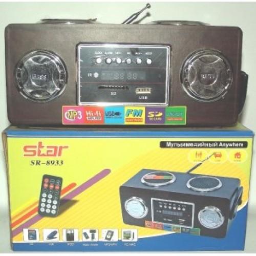 Портативная MP3 колонка Star SR-8933