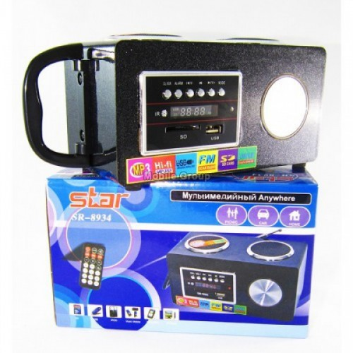 Портативная MP3 колонка Star SR-8934