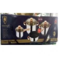 Кухонный набор кастрюль + сковорода Kaisa Villa KV6606