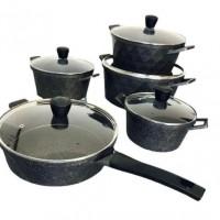 Набор посуды с антипригарным покрытием RB-608, 10 предметов