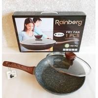 Сковорода с мраморным антипригарным покрытием RB-752, 28 см