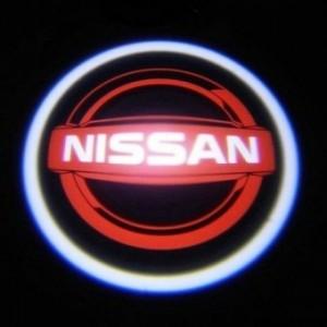 Лазерная проекция логотипа NISSAN 070