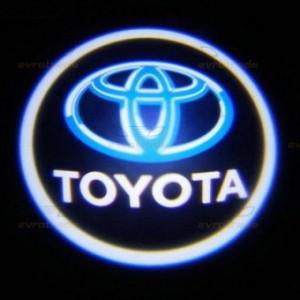 Лазерная проекция логотипа на двери, TOYOTA 001