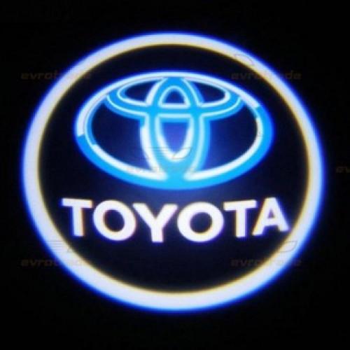 Лазерная проекция логотипа TOYOTA 001