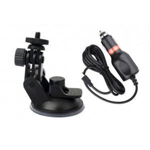 Держатель для экшн камеры + micro USB от 12V