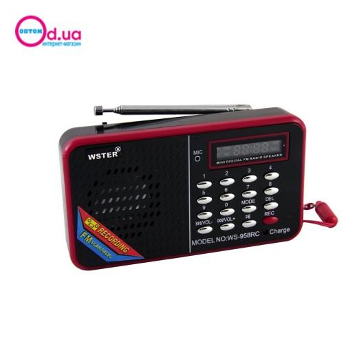 Портативная колонка Bluetooth WS-958
