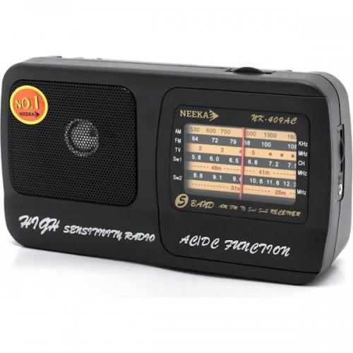 Радіоприймач Neeka NK-409AC