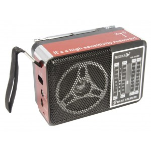 Радиоприемник NK-202RB (встроенный аккумулятор 1000mAh)