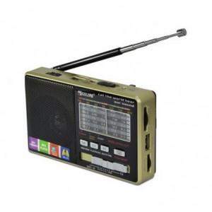 Радіоприймач портативний + Power Bank GOLON RX-2277