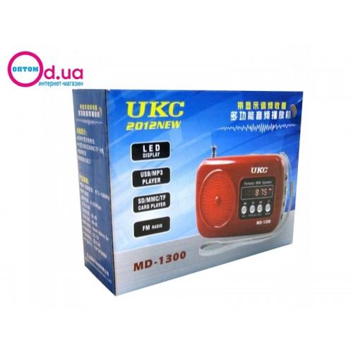 Радиоприемник UKC MD 1300 FM/USB/SD
