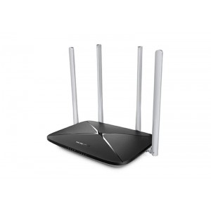 Роутер Wi-Fi Mercusys AC12 (AC1200, 1*FE Wan , 4*FE LAN , 4 антенны)