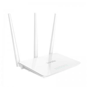 Роутер wi-fi TENDA F3 802.11n N300 3xFE LAN, 1xFE WAN, 3x5dBi