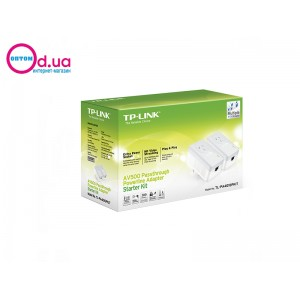 Сетевой адаптер PowerLine TP-LINK TL-PA4010PKIT