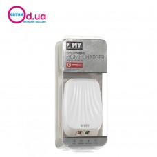 Сетевое зарядное устройство EMY MY-230 LIGHTNING QC 2.0 2USB