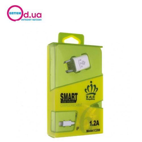 Сетевое зарядное устройство HWH C209 MICRO
