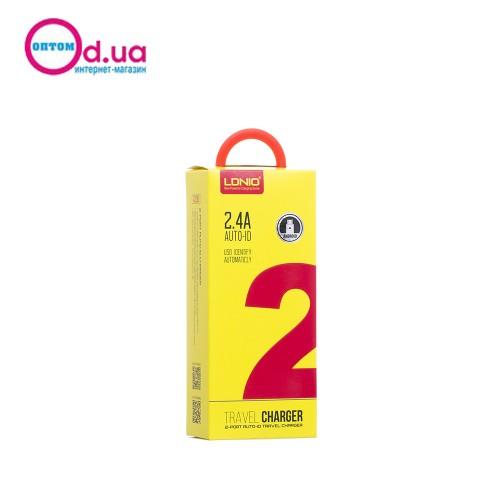 Сетевое зарядное устройство LDNIO A2203 MICRO