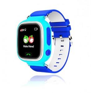 Смарт часы детские smart baby watch tw3 1.3'lcd blue с gps трекером