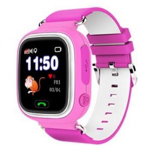 Смарт часы детские smart baby watch tw3 1.3'lcd pink с gps трекером