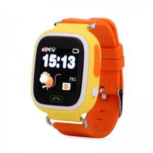 Смарт часы детские smart baby watch tw3 1.3'lcd yellow с gps трекером
