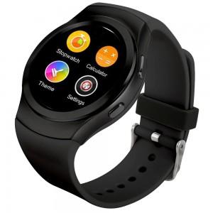 "Смарт часы smart watch dbt-fw13 ips 1.3"" heart rate black"