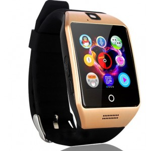Смарт часы smart watch phone q18 gold