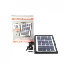 Солнечная панель батарея 3W-9V + моб. зарядка