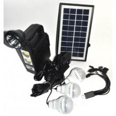Солнечная панель с фонарем gd-lite 8033
