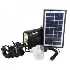 Солнечная панель с фонарем gd-lite 8037