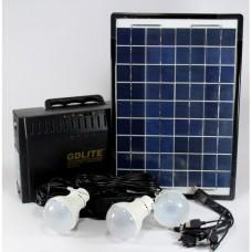 Солнечная панель с фонарем gd8012