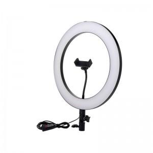 Кольцевая лампа 32см Dimmable без штатива