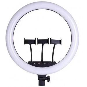 Кільцева LED лампа LS-360 (36см, пульт, 3 кріплення)