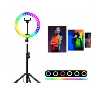 Кольцевая LED лампа RGB-260 (26см)