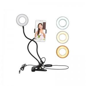 Настільна лампа для Селфі з Led підсвічуванням і контролером управління Professional Live Stream